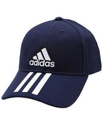 Boné Adidas 6 Painéis Cap Cotton Adulto  - Marinho / Branco
