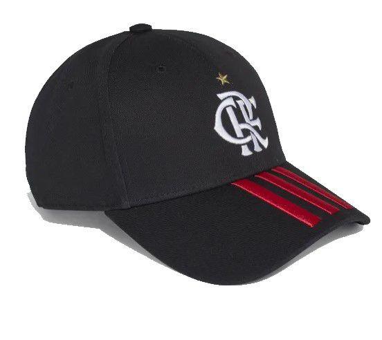 Boné Adidas Flamengo I - Preto