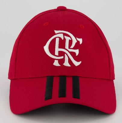 Boné Adidas Flamengo I - Vermelho