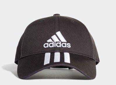 Boné Adidas Seis Painéis Classic 3 Stripes Cotton