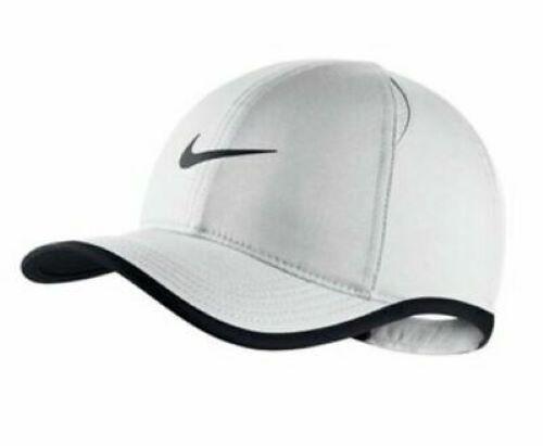 Boné Nike Arobill Featherlight Infantil - Branco/Preto