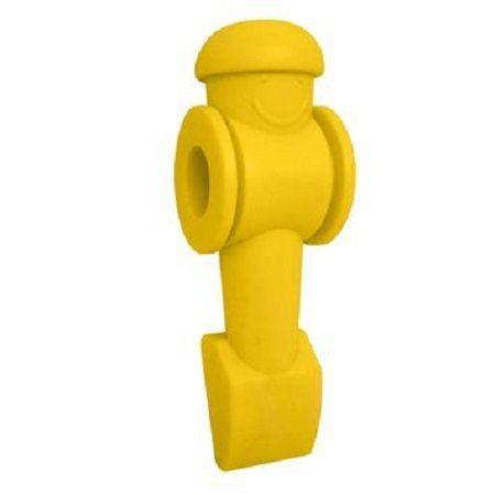 Boneco Para Mesa De Pebolim De Plástico - Amarelo