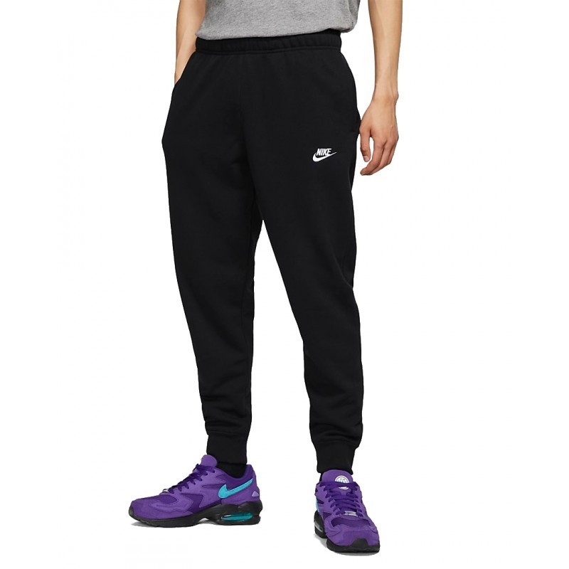 Calça Moletom Nike Sportswear Club Masculina - Preta