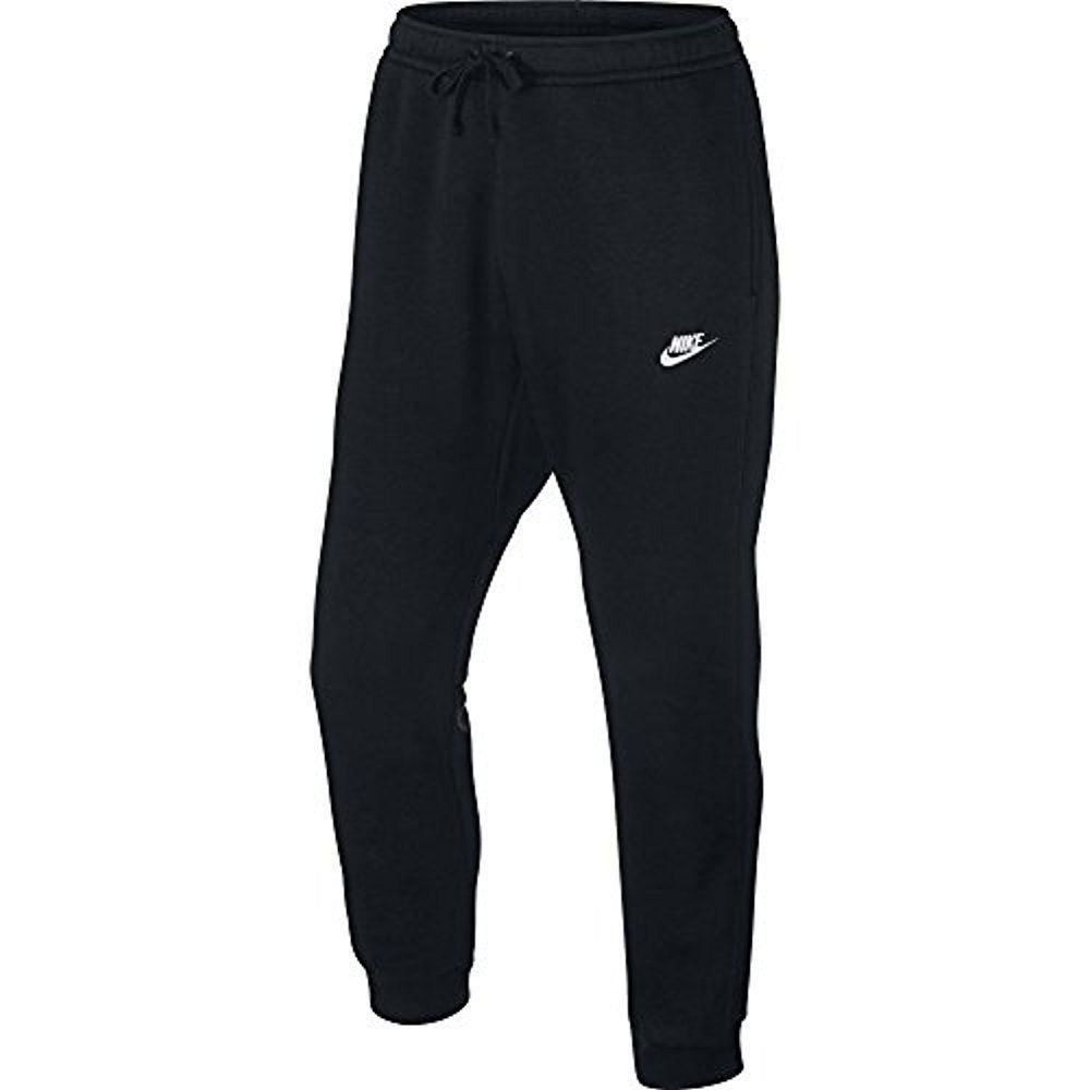 Calça Nike Moletom Sportwear Jogger Flc Club Masculina - Preta