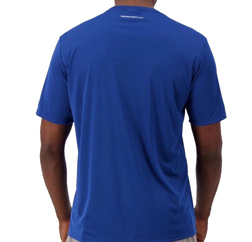 Camisa Braziline Cruzeiro Graphic - Masculino - Azul
