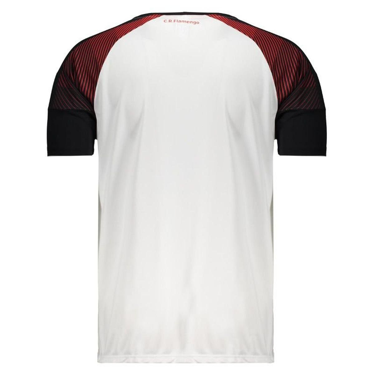 Camisa Braziline Flamengo Fortune - Masculino - Branco e Vermelho