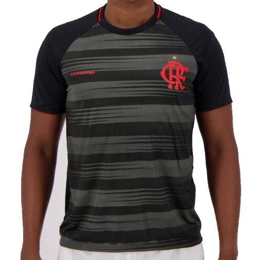 Camisa Braziline Flamengo Honda - Masculino - Preto
