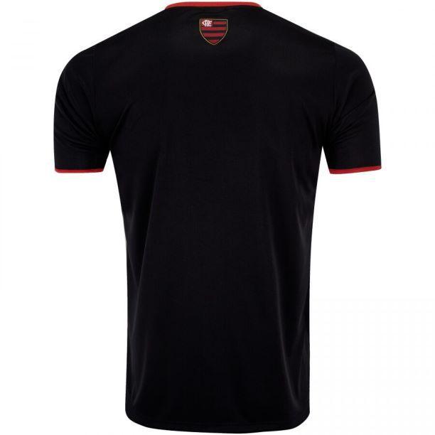 Camisa Braziline Flamengo Ray - Masculino - Preto