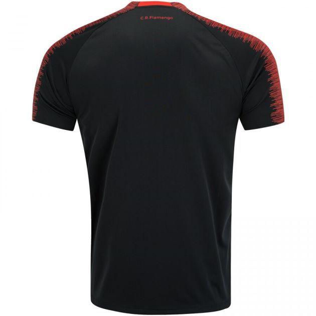 Camisa Braziline Flamengo Really Masculina - Preto e Vermelho