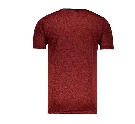 Camisa Braziline Flamengo Scream - Masculino - Vermelho e Preto