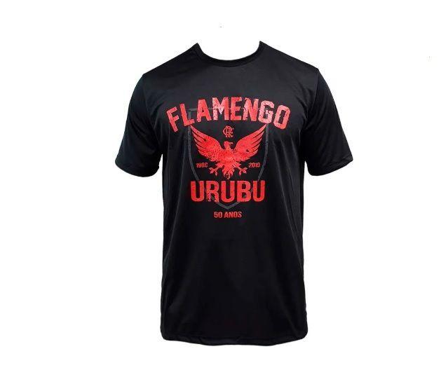 Camisa Braziline Flamengo Urubu - Masculino - Preto