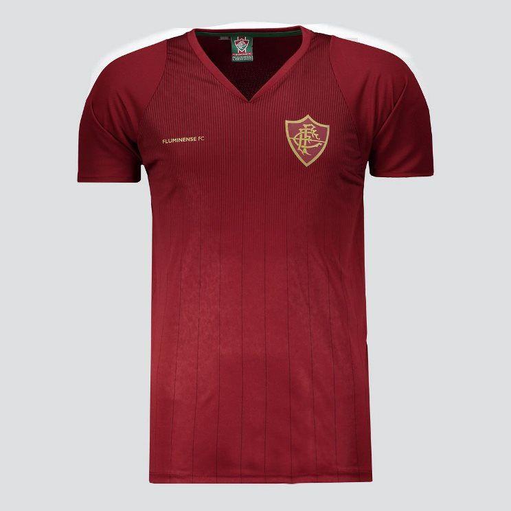 Camisa Braziline Fluminense Racer - Masculino - Vinho