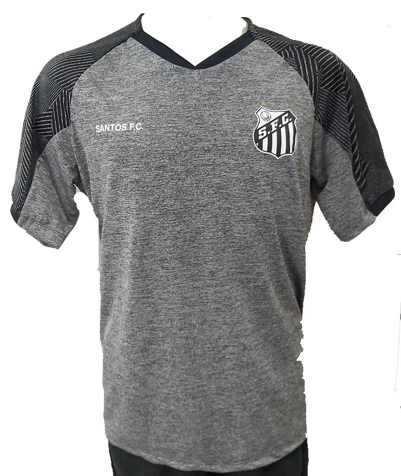 Camisa Braziline Santos Gloam - Masculina - Cinza