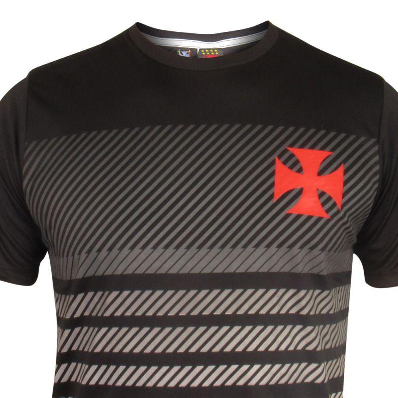 Camisa Braziline Vasco Graphic - Masculino - Preto