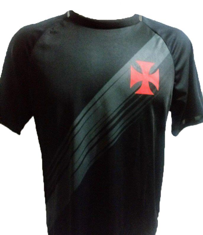 Camisa Braziline Vasco Honda - Masculino - Preto