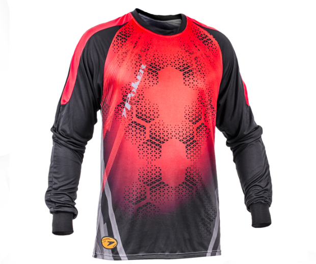 Camisa De Goleiro Poker Sublimax Bank - CH/PT/VM