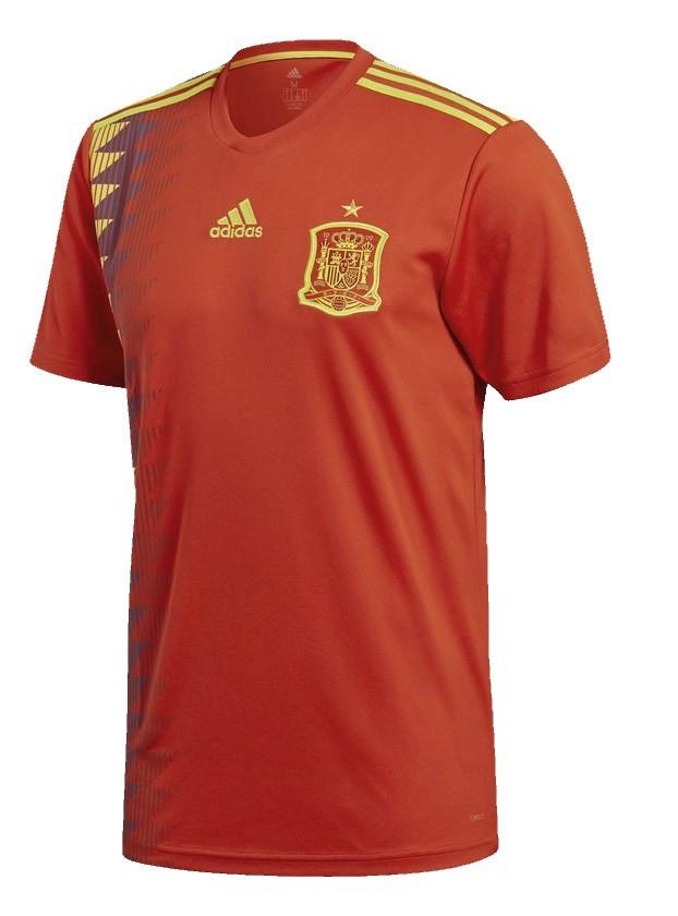 Camisa Espanha Adidas Oficial 1 2018