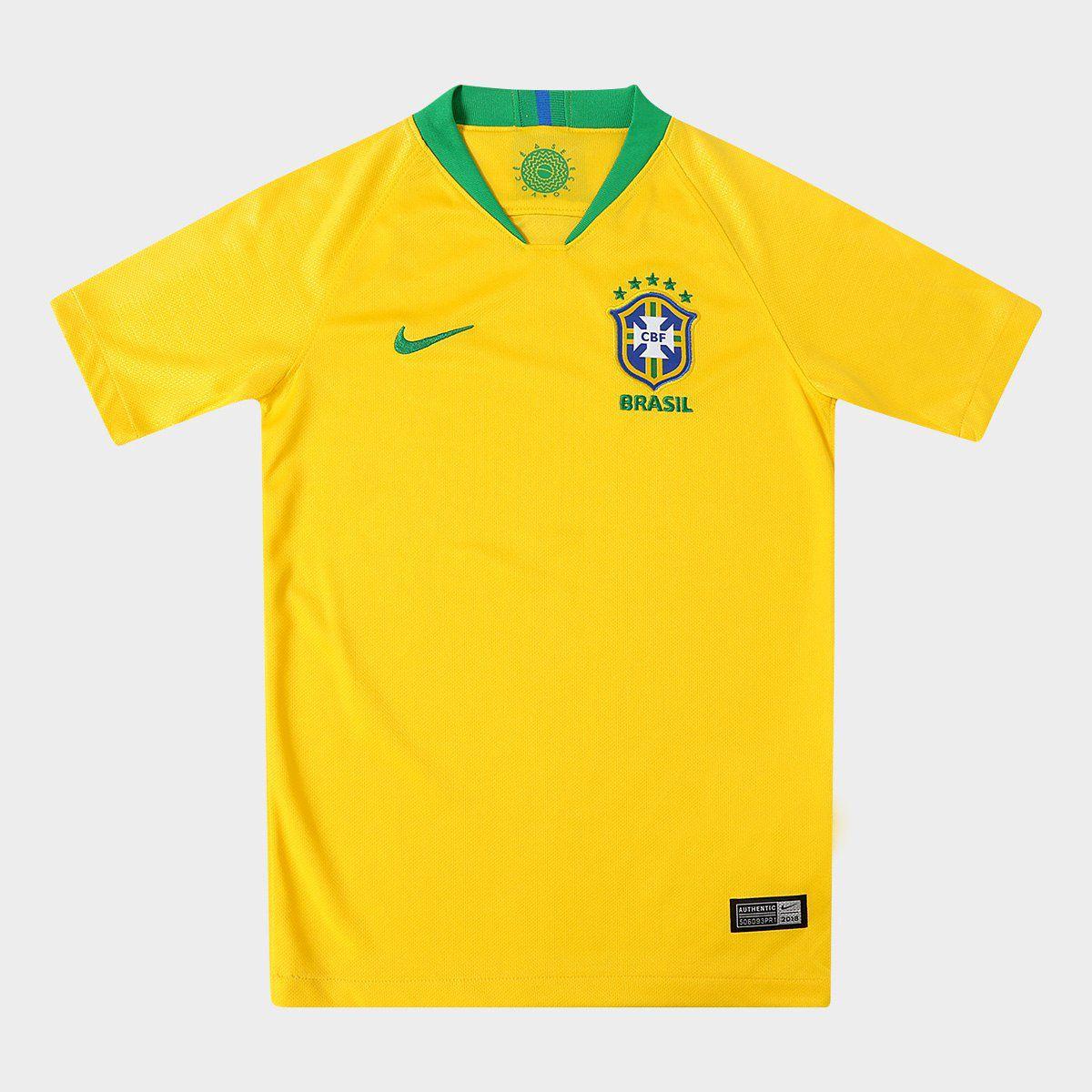 Camisa do Brasil da Copa do Mundo 2018 - …
