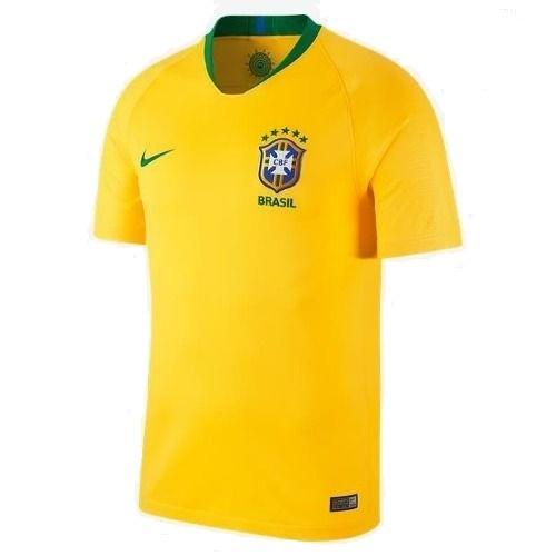 Camisa Brasil Nike Masculina 2018 Torcedor Oficial