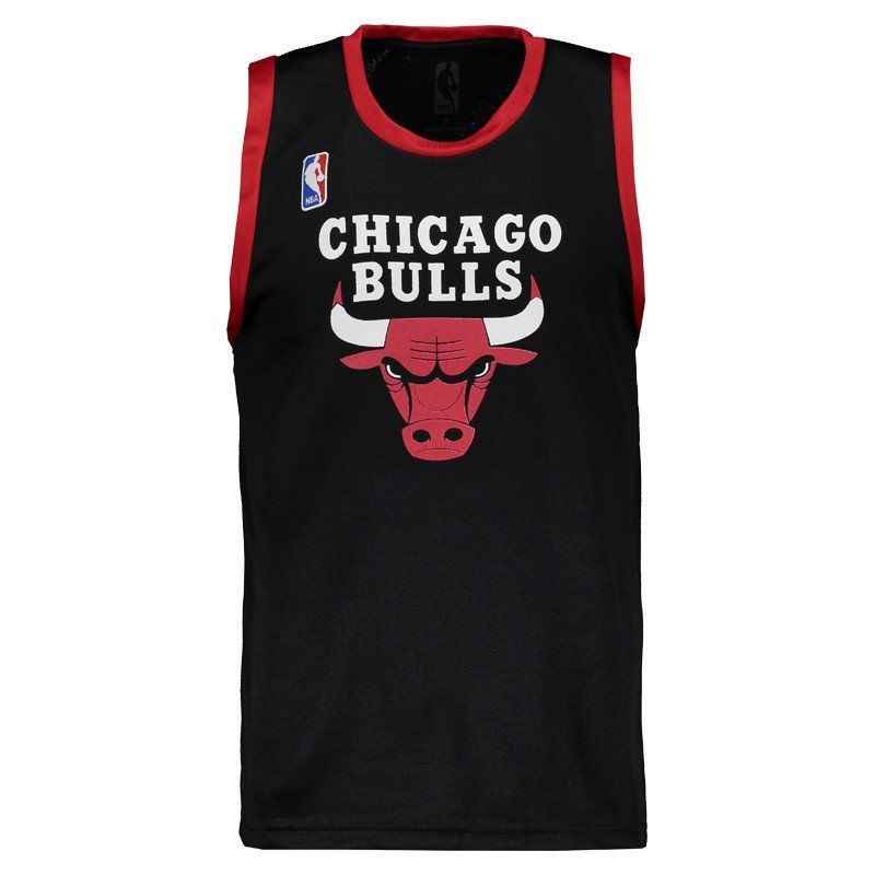 Camisa Regata NBA Machão Chicago Bulls - Preto