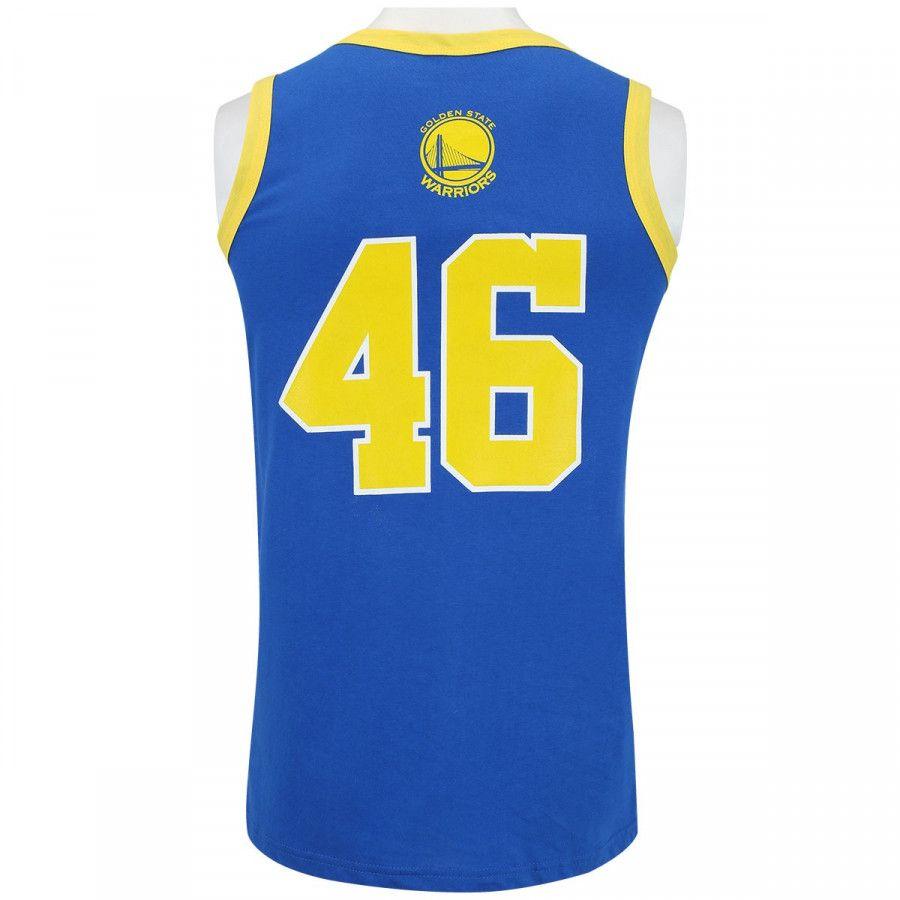 Camisa Regata NBA Retrô G.S Warriors - Azul
