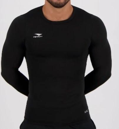 Camisa Térmica Matis Penalty Manga Longa - Preta