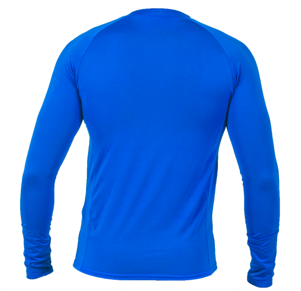 Camisa Térmica Poker Skin Basic II - Manga Longa - Azul