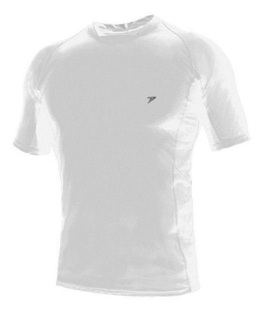 Camisa Térmica Poker Skin Basic -  Manga Curta - Branco