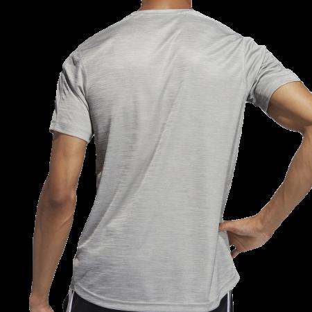 Camiseta Adidas D2M Tee Masculina - Cinza