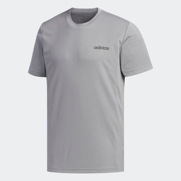 Camiseta Adidas Designed 2 Move Plain Masculina - Cinza