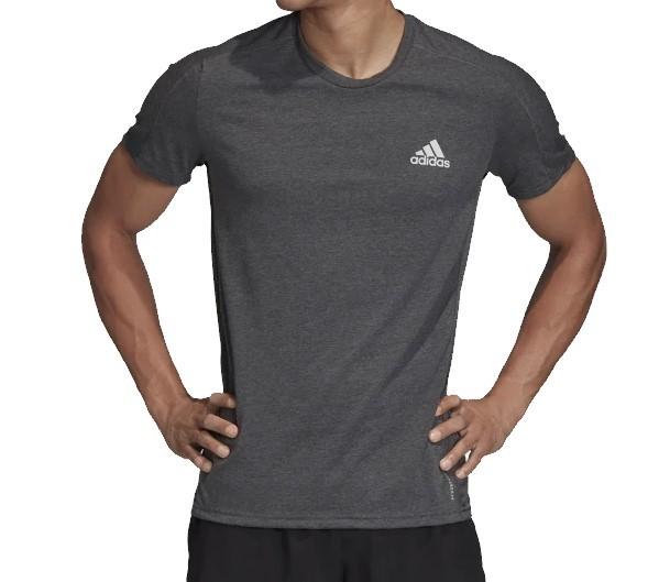 Camiseta Adidas Own The Run Masculina - Cinza