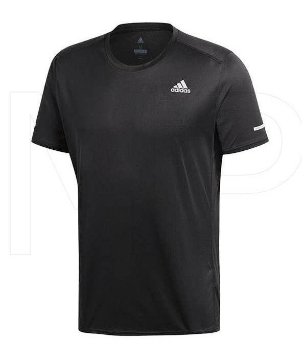 Camiseta Adidas Run Tee Masculina - Preta