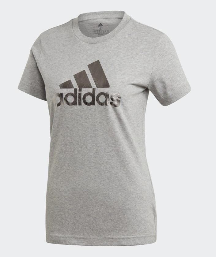 Camiseta Adidas Univvol Tee 2 Feminina - Mescla