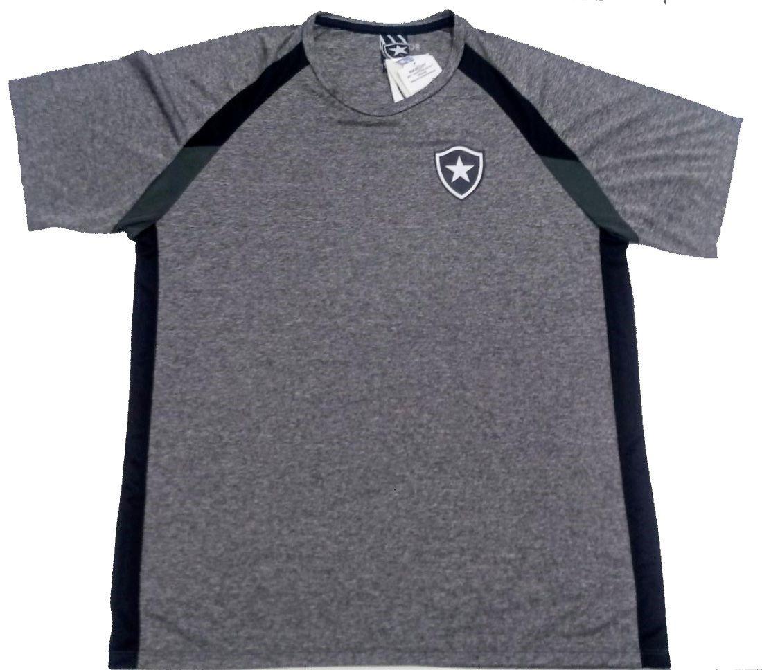 Camiseta Botafogo Braziline Frey Raglan Adulto - Mescla