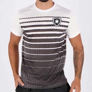 Camiseta Botafogo Masculina - Branca