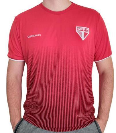 Camiseta Braziline São Paulo Court - Masculina - Vermelha