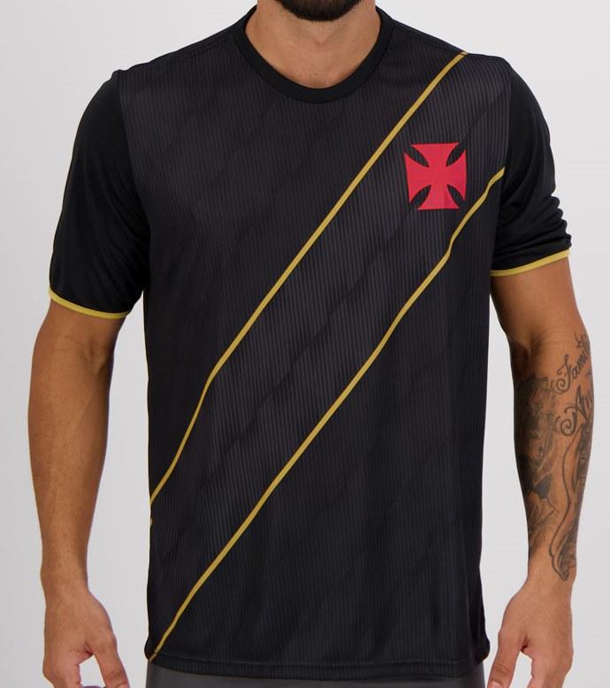 Camiseta Braziline Vasco Native - Masculina - Preta