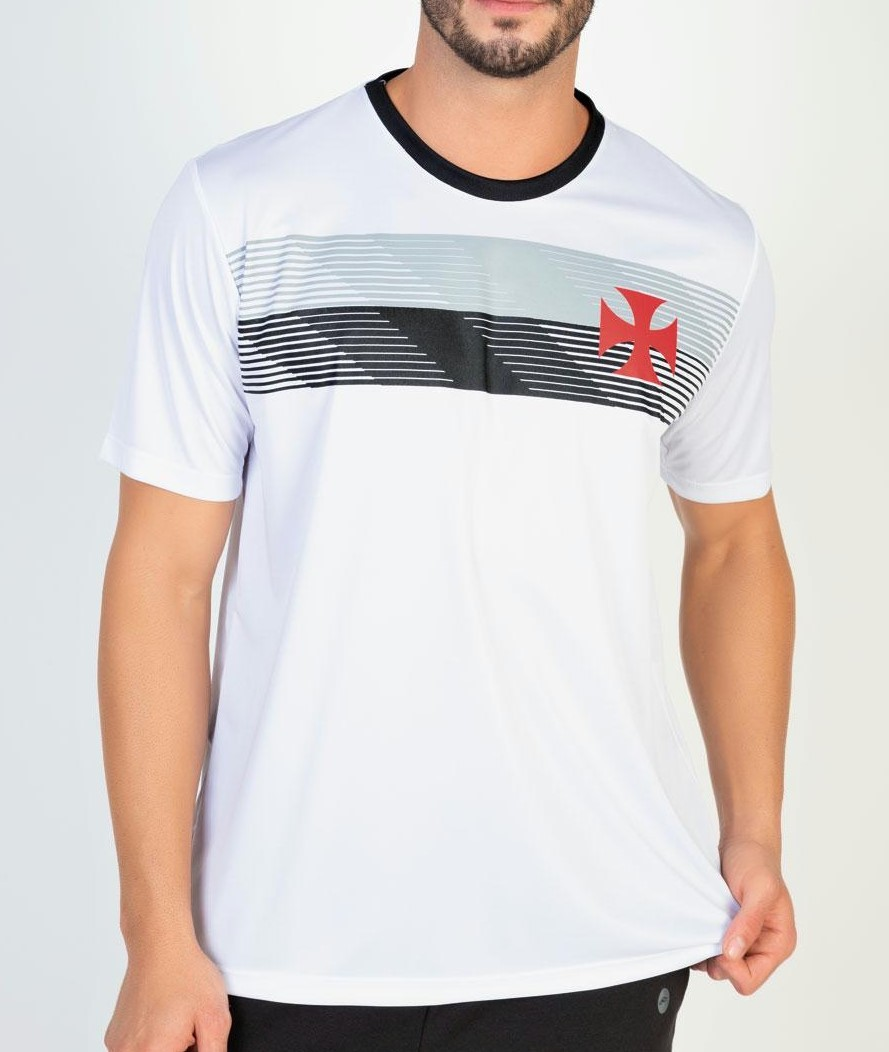 Camiseta Braziline Vasco Talent Masculina - Branca
