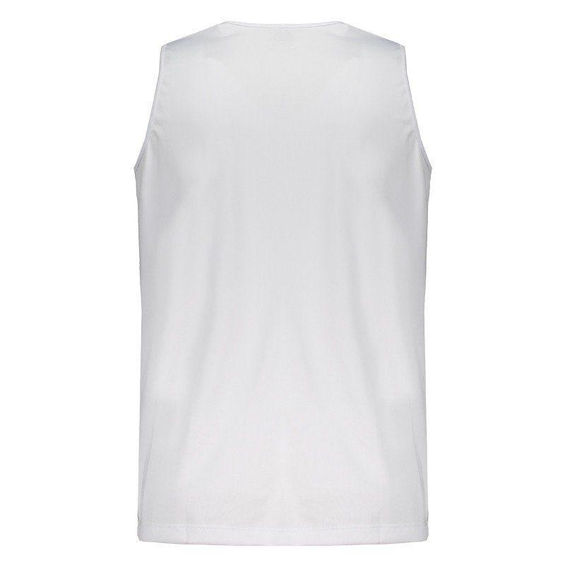 Camisa Corinthians Regata Silver Masculina - Branca