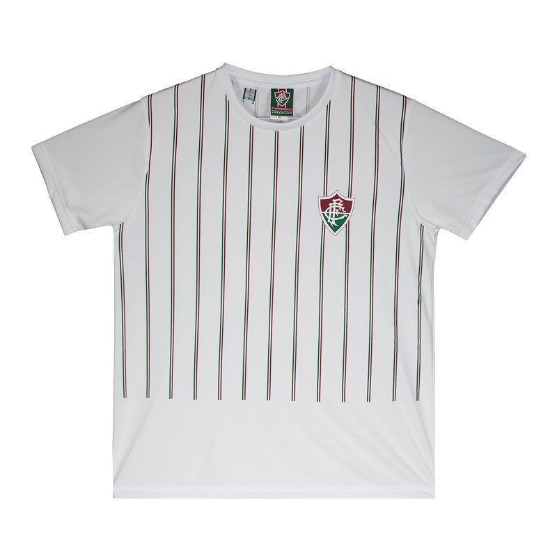 Camiseta Fluminense Braziline Intus Adulto - Branca