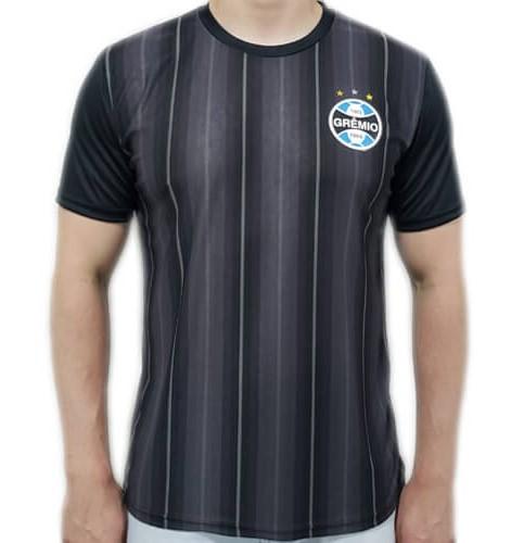 Camiseta Grêmio Dry Horizon Masculina - Preta