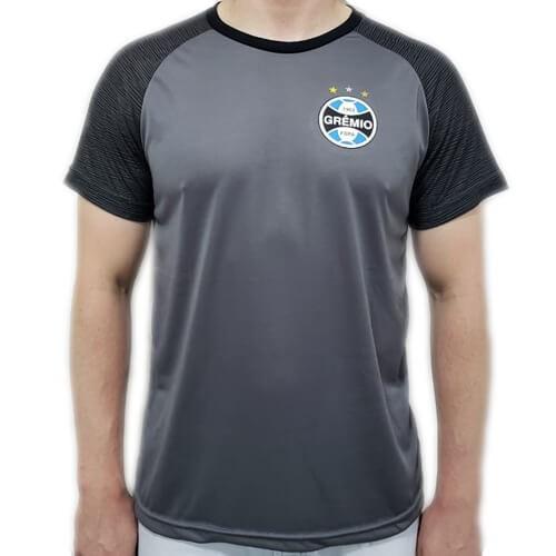 Camiseta Grêmio Dry Marks Masculina - Preta
