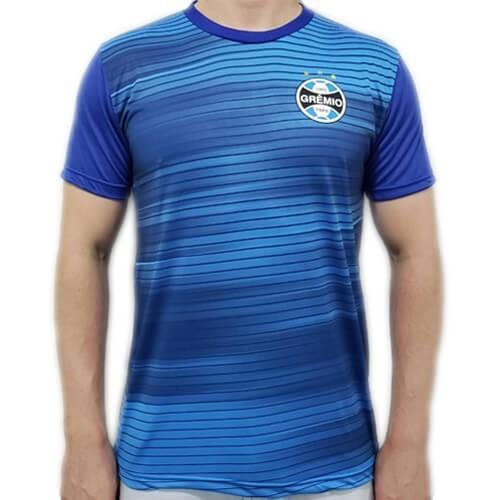 Camiseta Grêmio Dry Speed Masculina - Azul e Marinho
