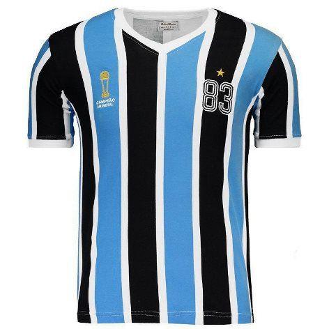 Camiseta Grêmio Retrô 1983 - Adulto