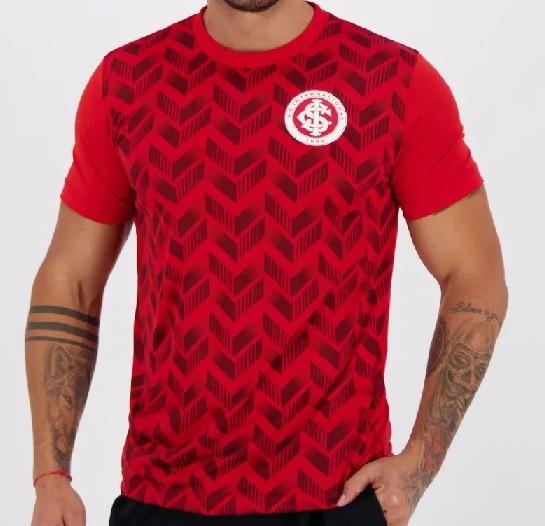 Camiseta Internacional Ludwig Masculina - Vermelha