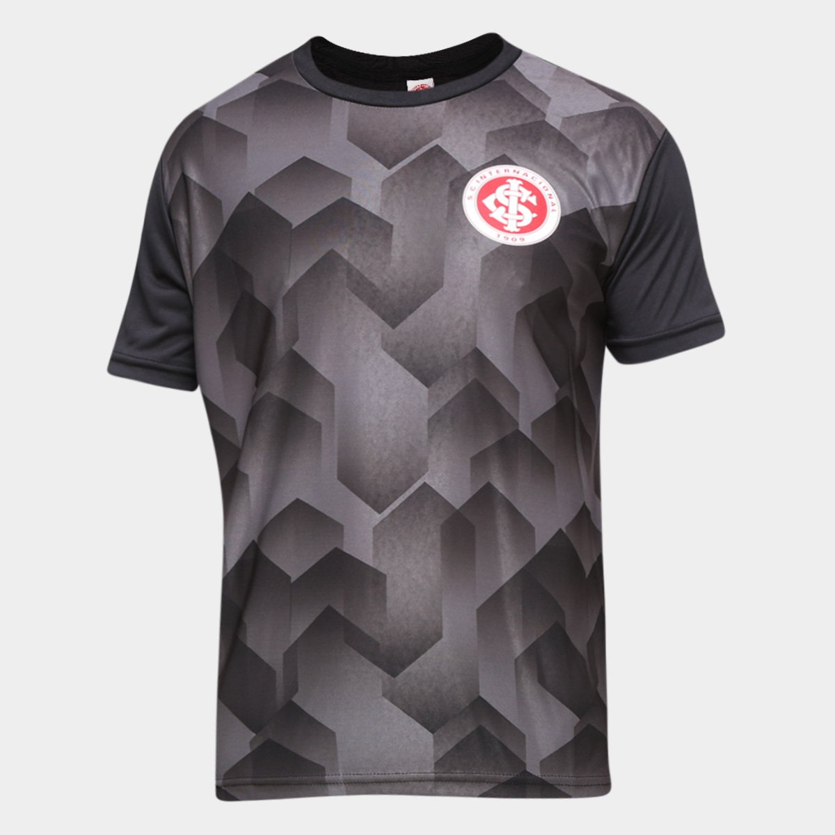Camiseta Internacional Prisma Masculina - Preta