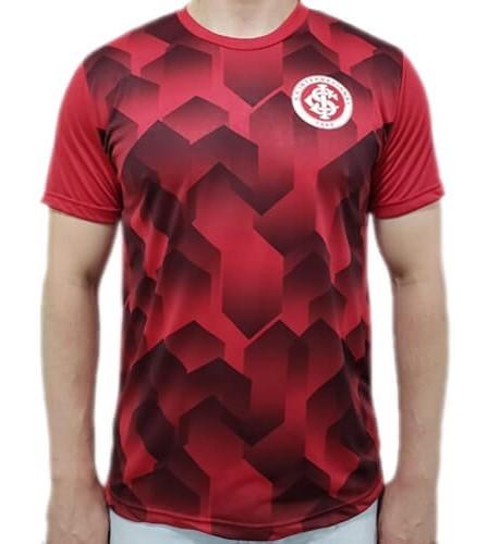 Camiseta Internacional Prisma Masculina - Vermelha