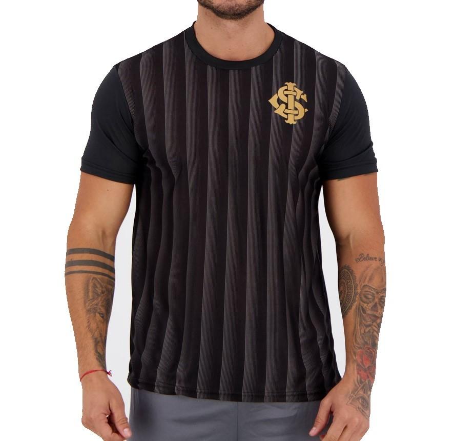 Camiseta Internacional Ruy Masculina - Preta