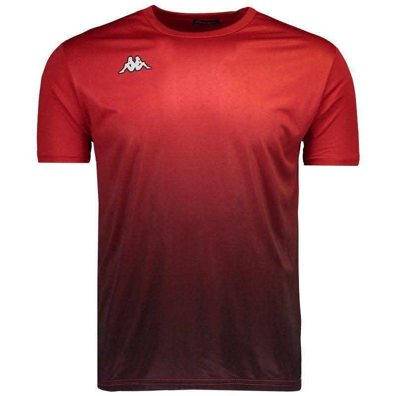 Camiseta Kappa Clair Masculina - Vermelho
