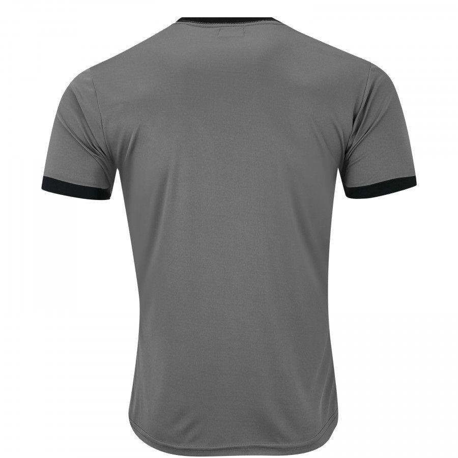 Camiseta Kappa Striker Masculina - Chumbo